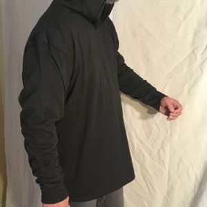 Next Level Apparel Men's Black hoodie size 2XL